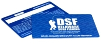 DSF Star Angler Discount Card