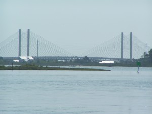 Indian River Inlet Bridge ... from Massey's Landing .. Long Neck, DE