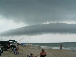 cloud formation 3R's beach delaware seashore state park