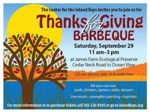 Center for the Inland Bays, CIB, Indian River Inlet, James Farm Ecological Preserve, Ocean View, DE