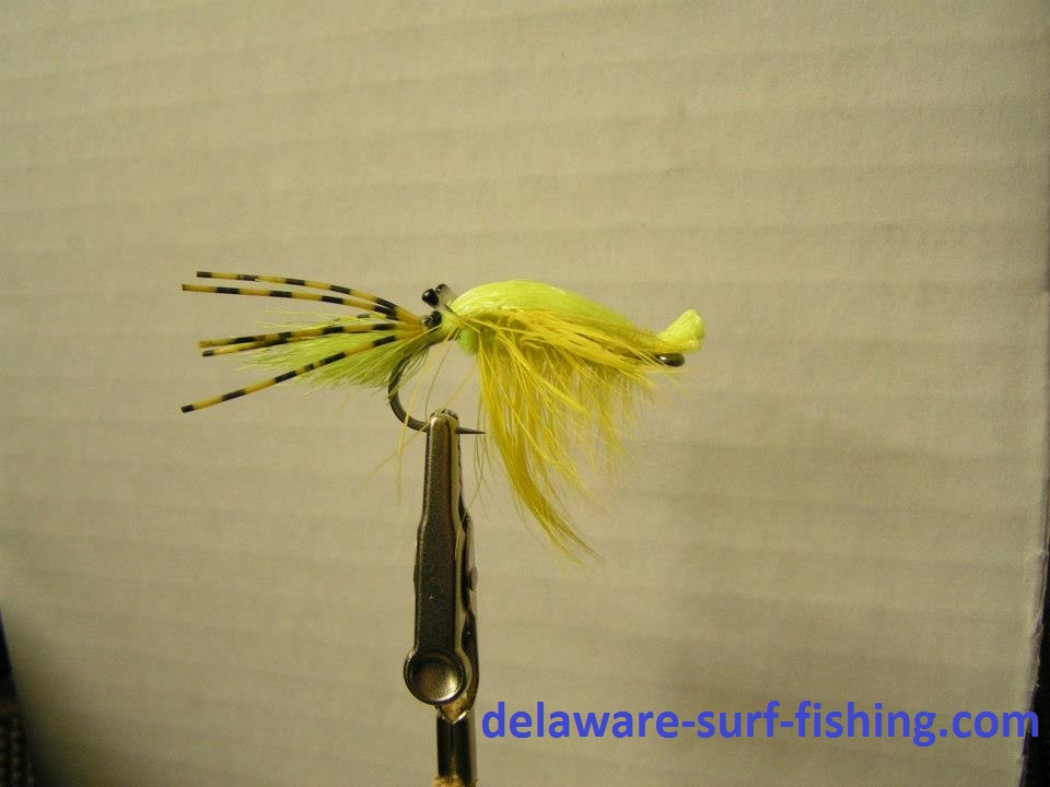 Saltwater fly anglers of delaware saturday fly tie session for Surf fishing nj license