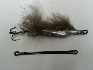 home made pures, lure making, treble hooks, fly tying saltwater fly anglers of Delaware