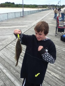 cape ehnlopen fishing pier, summer flounder, DSF, delaware surf fishing