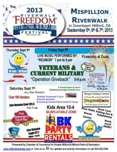 13th Annual Riverwalk Freedom Festival