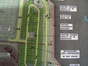 Proposed park improvements for DSSP south side .. photo by DSF (last year)