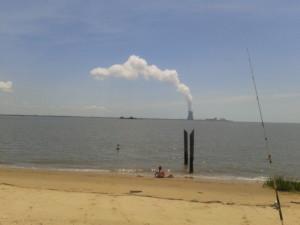 Augustine Beach, salem I nuclear plant