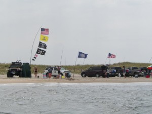cape henlopen state park, the point