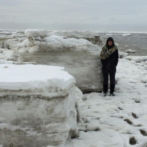 pancake ice, mini glaciers, cape may, delaware bay, delaware river, frozen bays,