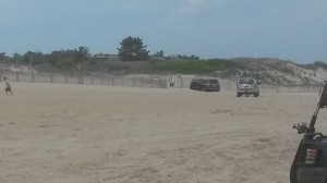 vehicle stuck on beach, airdown your tires, drive on beaches, off road vehicle access, ORV beaches, delaware, sussex county