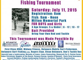 """""""Andy & Opie"""" Parents Fishing with Kids Fishing Tournament"""
