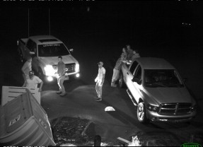Nine arrested in connection with vandalism at Woodland Beach